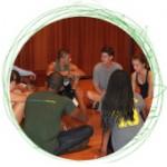 circle photos public speaking