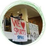 circle photos sport banner
