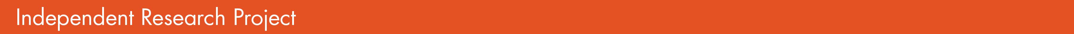 new orange IRP