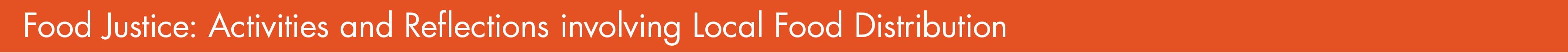 new orange food justice