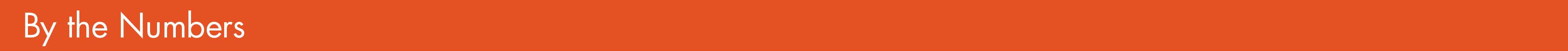 new orange numbers